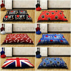 DOG BED  REMOVABLE ZIPPED COVER WASHABLE PET BED CUSHION & COVER LARGE ,X LARGE