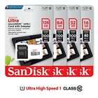16GB 32GB 64GB 128GB SanDisk Ultra Micro SD Card Class10 80MB/s Memory Card Lot