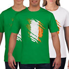 Rugby T Shirt Torn Chest Funny Wales England Ireland Scotland PT850