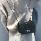 Women's Mini Handbag Purses Chain Sequins Girls Small Single Shoulder Bag Cute