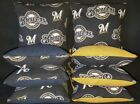 Milwaukee Brewers Set of 8 Cornhole Bean Bags FREE SHIPPING