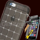 For iPhone 8 7 6s 6 5 5s Shockproof 360° Gel TPU Protective Shock Case Cover