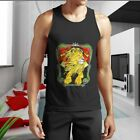 New AFRICA RASTA Strong Lion Rastafarian Reggae Music Men's Tank Top S-5XL Shirt