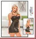Mini abito Sultry Wetlook Mesh Dress Allure Lingerie Sexy Donna Fetish INTIMO