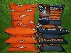 Denver Broncos Set of 8 Cornhole Bean Bags FREE SHIPPING $27.99 USD on eBay