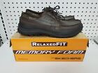 NEW Skechers RelaxedFIT Memory Foam Mens Brown Leather Shoe Various Sizes