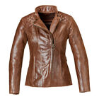 Triumph Motorcycle Ladies Leather Barbour Jacket - MLLS17106 - FREE SHIPPING ! $400.0 USD on eBay