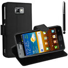 Protective Cover for Samsung Galaxy S2 i9100 phone Briefcase Flip Case Cover