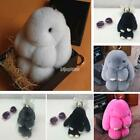 Mignon Faux Fur Animal Car Pendant Handbag Cell Phone Key Ring Décor IS 01