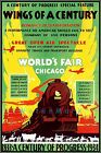 Chicago 1934 World's Fair Century Of Progress Vintage Poster Print Air Train