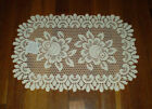 """Heritage Lace Rose 13""""x 20"""" Doily Place mat"""