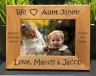 Personalized Engraved // I Love my Aunt // Picture Frame