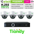 TIANDY STARLIGHT 1/2/3/4 POE MIC IP CAMERA CCTV KIT SYSTEM BUNDLE PLUG AND PLAY