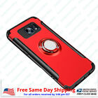 Samsung S8, S8+ & Note 8 Shockproof Hybrid Phone Case Cover With Ring Kickstand