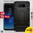 FUNDA TPU Gel para SAMSUNG S8 S8+ plus slim shock tough armor soft rugged case