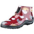 Women's Sloggers Ankle Rain Boots - Fun Chicken Print