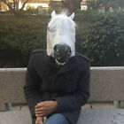 Cosplay Halloween Horse Head Mask Latex Animal ZOO Party Costume Prop Toys WOW