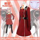 NEW!Darling in the FranXX CODE 002 Zero Two national team cosplay costume