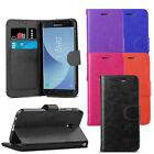 For Samsung Galaxy J5 2017 - Premium Leather Wallet Flip Case Cover + Protector