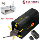 1/2/4Pcs Electric Mouse Trap Control Rat Killer Rodent  Zapper Pest Control US