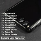 Back Camera Lens Tempered Glass Protector For Xiaomi 6 Mix Max 2 Note 3 5 4x 5x