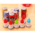 Novelty Beverage Can Retractable Ballpoint Pen Ink Blue Stationery With Key Ring $1.88  on eBay