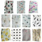Kyпить Baby Boy Girl Muslin Cotton Wrap Swaddling Blanket Newborn Infant Swaddle Towel на еВаy.соm