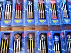 AFL DARTS SET - All Teams - Officially Licensed  - 24g Brass Darts + Flights