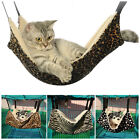Cat Hammock Bed Cage Hanging Animal Pet Ferret Leopard Soft Dog Puppy Fur House