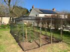 Fruit Cage Frame Large Heavy Duty Garden Walk In Protective Anti Bird Vegetable