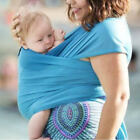 baby sling baby carrier - Baby Sling Stretchy Adjustable Infants Newborn Carrier Wrap Breastfeeding Cover