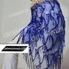 sale! HAND MADE BELLY DANCE BELTS HIP SCARF WITH TASSEL
