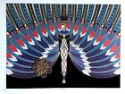 VTG Erte Print FASHION COSTUME THEATER DESIGN Art Deco SEE VARIETY