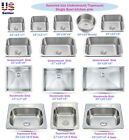 Stainless Steel Topmount / Undermount Single Bowl Kitchen Sink Various Sizes