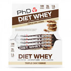 PhD Nutrition Diet Whey Protein Bars Weight Loss 12 x 65g + FAST FREE DELIVERY