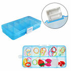 Jewelry Organizer Box HOT Bead Storage Compartments Craft Plastic 10/15