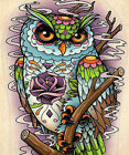 40*45 Acrylic Oil Painting DIY Home Wall Decor By Number Kit Scenery Owl Eagle