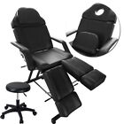 Massage Table Beauty Salon Chair Tattoo Therapy Recliner Couch Bed with Stool