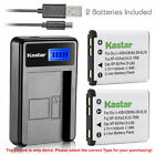 Kastar Battery LCD Charger for Fujifilm NP-45 NP-45A FinePix JX320 FinePix JX330
