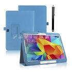 "Smart Leather Stand Case Cover For Samsung Tab A/S2 9.7"" Tab E 9.6"" Tab A 10.1"""