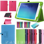 """Smart Leather Stand Case Cover For Samsung Tab A/S2 9.7"""" Tab E 9.6"""" Tab A 10.1"""""""