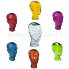 Unisex Glass Display Heads - 3D Glasses, Wigs | Various Colours