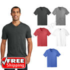 Mens Perfect Tri-Blend V-Neck Tee Soft Comfort Casual Extra Soft TShirt DT1350