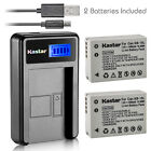 Kastar Battery LCD Charger for Canon NB-10L NB-10LH & Canon PowerShot SX50 HS