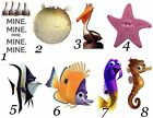 Finding Dory / Nemo 48 Large Sticky White Paper Stickers Labels NEW
