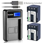 Kastar Battery LCD Charger for Canon NB-2L12 NB-2LH & Canon EOS Kiss Digital X