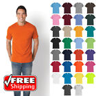 Comfort Blend T-Shirt Short Sleeve Soft Color Blank Plain Unisex Tee Casual PC55 image