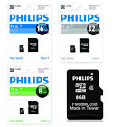 GENUINE OFFICIAL PHILIPS MICRO SD SDHC MEMORY CARD CLASS 4 SD CARD WITH ADAPTER