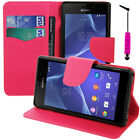 Protective Case for Sony Xperia M2/M2 Dual D2303 Phone Briefcase Plastic TPU