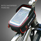 Waterproof Touch Screen Bike Bicycle Front Tube Frame Bag For 6'' iPhone X 7/8